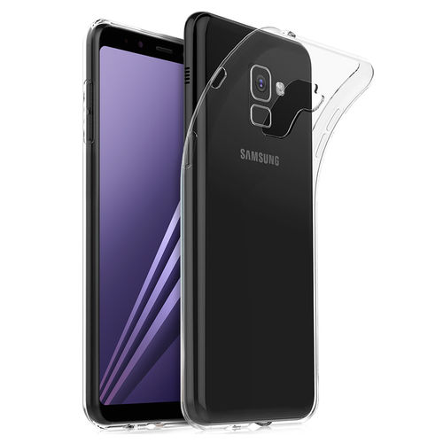 Flexi Ultra Slim Gel Case for Samsung Galaxy A8+ (2018) - Clear